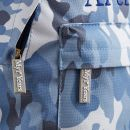 Personalised Blue Camouflage Print Mini Backpack
