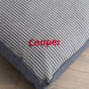 Personalised Maritime Stripe Blue Pet Mattress - Personalisation