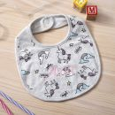 Personalised Unicorn Print Bib