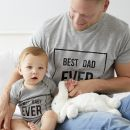 Best Dad Ever Matching Father and Child Set