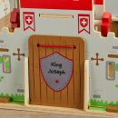 Personalised Wooden Knights Castle with Figures - Personalisation