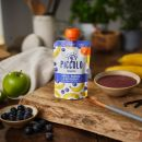 Piccolo Organic Apple, Banana & Blueberry 100g Pouch (4 Months+)