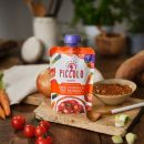 Piccolo Organic Sweet Potato & Beef Meatballs with Tomato & Herbs 130g  Pouch (7 Months+)