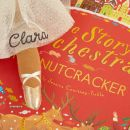 Personalised Nutcracker Musical Story Book and Brown Hair Ballerina Doll Gift Set Personalisation