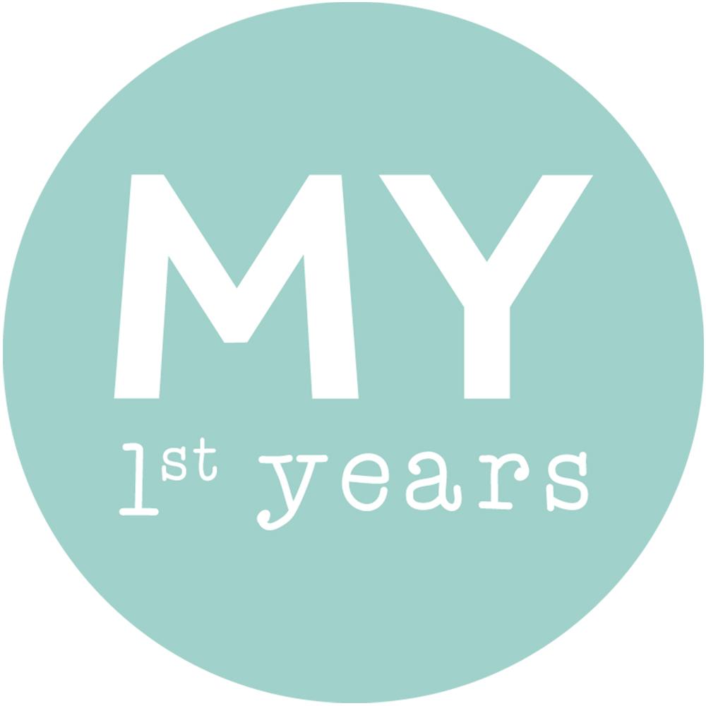 Personalised Monochrome Baby Milestone Blanket Model
