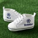No1.Dribbler White High Tops